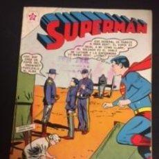 Tebeos: SUPERMAN Nº 356 SUPERMAN EN SU VIAJE A LA GUERRA CIVIL, EDITORIAL NOVARO, AÑO 1962, EN BUEN ESTADO. Lote 288585668