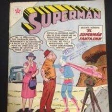 Tebeos: SUPERMAN Nº 341 EL SUPERMAN FANTASMA, EDITORIAL NOVARO, AÑO 1962, EN BUEN ESTADO. Lote 288585693