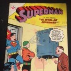 Tebeos: SUPERMAN Nº 335 EL RIVAL DE SUPERMAN, EDITORIAL NOVARO, AÑO 1962, EN BUEN ESTADO. Lote 288585738