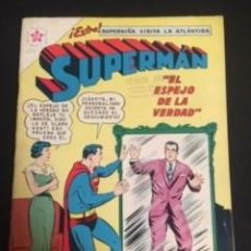 Tebeos: SUPERMAN Nº 321 EL ESPEJO DE LA VERDAD, EDITORIAL NOVARO, AÑO 1961, EN BUEN ESTADO. Lote 288585768