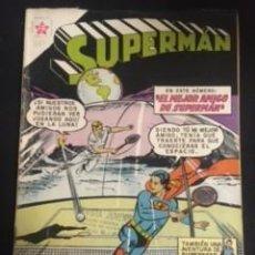 Tebeos: SUPERMAN Nº 265 EL MEJOR AMIGO DE SUPERMAN, EDITORIAL NOVARO, AÑO 1960, EN BUEN ESTADO. Lote 288586913