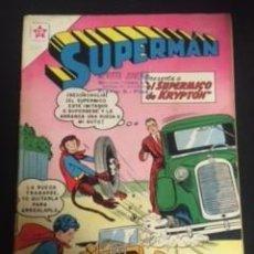 BDs: SUPERMAN Nº 260 EL SUPERMICO DE KRYPTON, EDITORIAL NOVARO, AÑO 1960, EN BUEN ESTADO. Lote 288586938