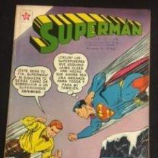Tebeos: SUPERMAN Nº 252 LA GUERRA ENTRE JAIME OLSON Y SUPERMAN, EDITORIAL NOVARO, AÑO 1960, EN BUEN ESTADO. Lote 288587023