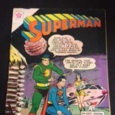 Tebeos: SUPERMAN Nº 247 EL VIAJE DE SUPERMAN A NUEVO KRYPTON, EDITORIAL NOVARO, AÑO 1960, EN BUEN ESTADO. Lote 288587043