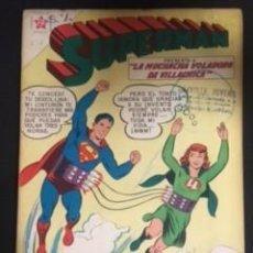 Tebeos: SUPERMAN Nº 236 LA MUCHACHA VOLADORA DE VILLACHICA, EDITORIAL NOVARO, AÑO 1960, EN BUEN ESTADO. Lote 288587058