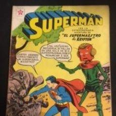 Tebeos: SUPERMAN Nº 164 EL SUPERMAESTRO DE KRYPTON, EDITORIAL NOVARO, AÑO 1958, EN BUEN ESTADO. Lote 288587203