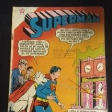 Tebeos: SUPERMAN Nº 172 LOS SUPERTRUCOS DEL SUPERCAN, EDITORIAL NOVARO, AÑO 1959, EN BUEN ESTADO. Lote 288587268