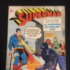 Tebeos: SUPERMAN Nº 201 LA SUPERESPADA DEL CABALLERO AZUL, EDITORIAL NOVARO, AÑO 1959, EN BUEN ESTADO. Lote 288706473