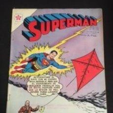 Tebeos: SUPERMAN Nº 379 UNA AVENTURA EN EL MUNDO BIZARRO, EDITORIAL NOVARO, AÑO 1963, EN BUEN ESTADO. Lote 288706833
