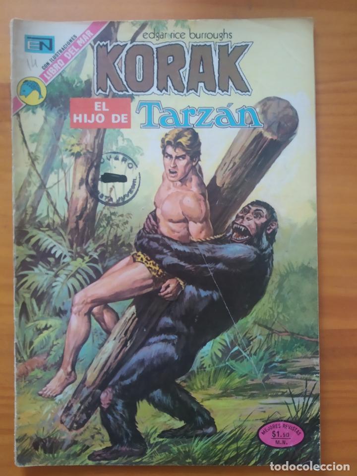 KORAK EL HIJO DE TARZAN - Nº 14 - EDITORIAL NOVARO (GV) (Tebeos y Comics - Novaro - Tarzán)