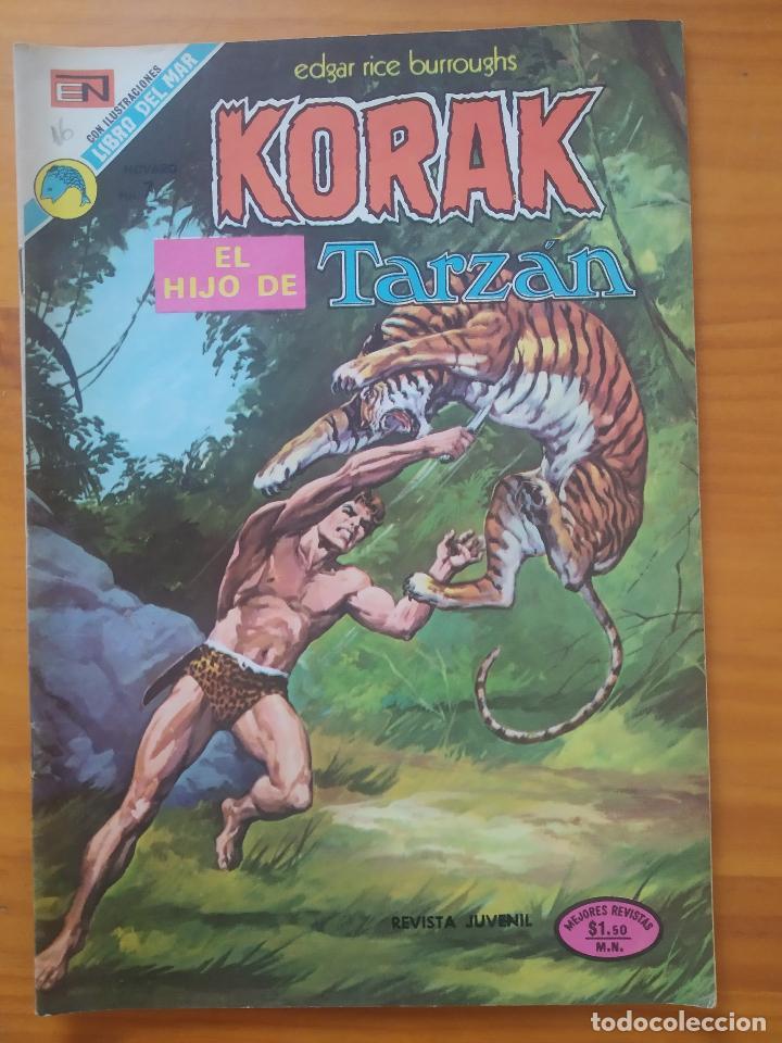 KORAK EL HIJO DE TARZAN - Nº 16 - EDITORIAL NOVARO (GV) (Tebeos y Comics - Novaro - Tarzán)
