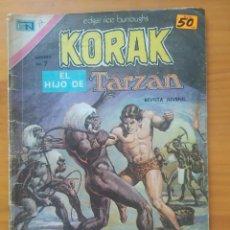 Tebeos: KORAK EL HIJO DE TARZAN - Nº 17 - EDITORIAL NOVARO - LEER DESCRIPCION (GV). Lote 288912793
