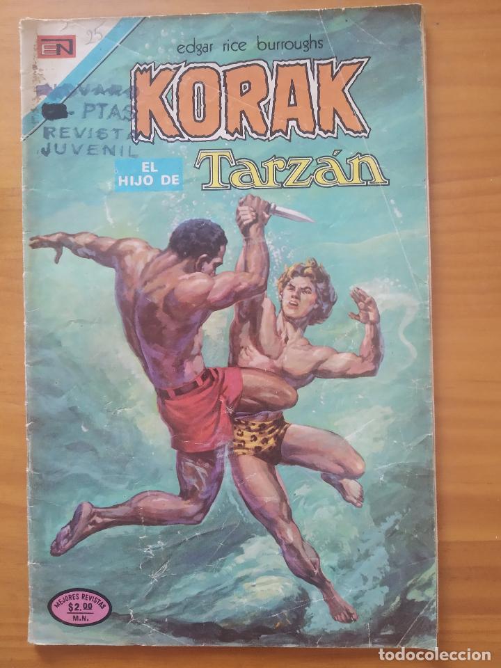 KORAK EL HIJO DE TARZAN - Nº 25 - EDITORIAL NOVARO (GV) (Tebeos y Comics - Novaro - Tarzán)