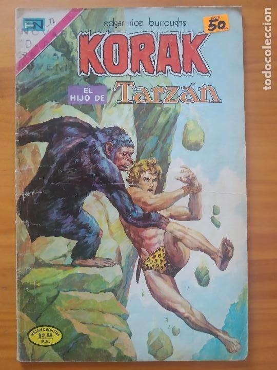 KORAK EL HIJO DE TARZAN - Nº 27 - EDITORIAL NOVARO (GV) (Tebeos y Comics - Novaro - Tarzán)