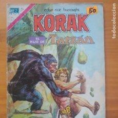 Tebeos: KORAK EL HIJO DE TARZAN - Nº 27 - EDITORIAL NOVARO (GV). Lote 288915233