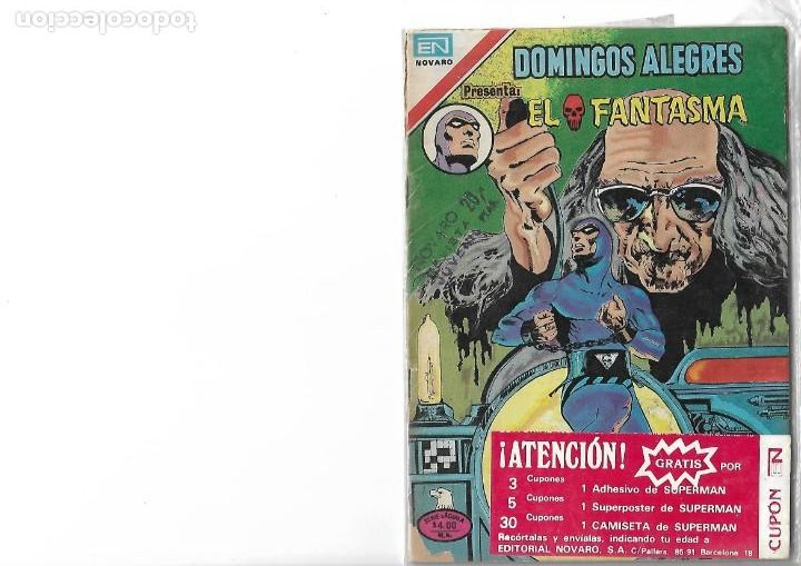 DOMINGOS ALEGRES-EL FANTASMA-SERIE AGUILA1979-NOVARO (Tebeos y Comics - Novaro - Otros)