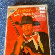 Tebeos: NOVARO CLASICOS DEL CINE NUMERO 13 NORMAL ESTADO. Lote 289403578