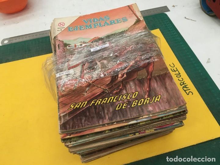 VIDAS EJEMPLARES NOVARO, 60 NUMEROS (VER DESCRIPCION) EDITORIAL NOVARO AÑO 1961-1970 (Tebeos y Comics - Novaro - Vidas ejemplares)