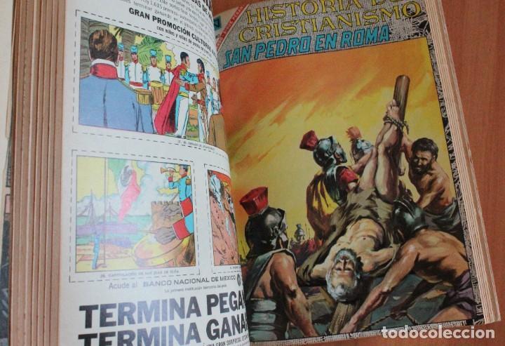 Tebeos: NOVARO Vidas ejemplares, ilustres, historia cristianismo, patronos - 8 9 10 11 16 209 238 240 246.. - Foto 4 - 289436628