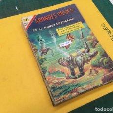 Tebeos: GRANDES VIAJES NOVARO, 14 NUMEROS (VER DESCRIPCION) EDITORIAL NOVARO AÑO 1963-1973. Lote 289547468