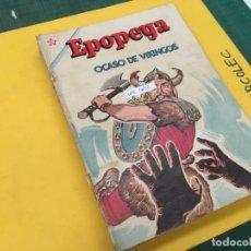 Tebeos: EPOPEYA NOVARO, 12 NUMEROS (VER DESCRIPCION) EDITORIAL NOVARO AÑO 1963-1970. Lote 289552818