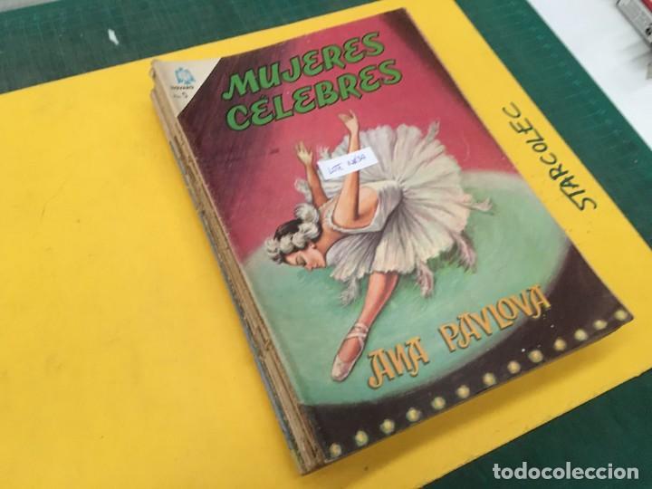 MUJERES CELEBRES NOVARO, 13 NUMEROS (VER DESCRIPCION) EDITORIAL NOVARO AÑO 1963-1965 (Tebeos y Comics - Novaro - Otros)