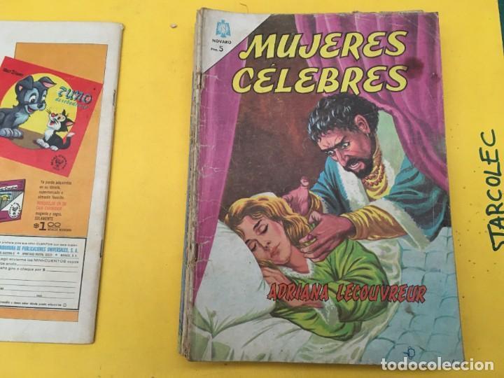 Tebeos: MUJERES CELEBRES NOVARO, 13 NUMEROS (VER DESCRIPCION) EDITORIAL NOVARO AÑO 1963-1965 - Foto 3 - 289556408