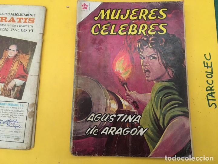 Tebeos: MUJERES CELEBRES NOVARO, 13 NUMEROS (VER DESCRIPCION) EDITORIAL NOVARO AÑO 1963-1965 - Foto 4 - 289556408