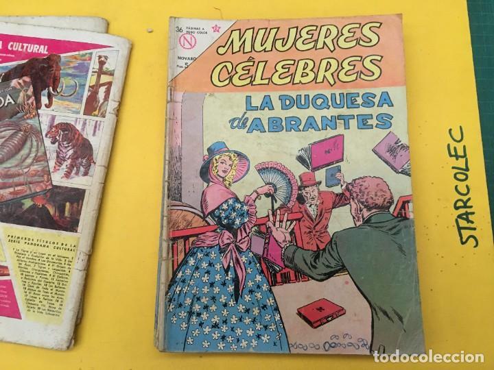 Tebeos: MUJERES CELEBRES NOVARO, 13 NUMEROS (VER DESCRIPCION) EDITORIAL NOVARO AÑO 1963-1965 - Foto 5 - 289556408