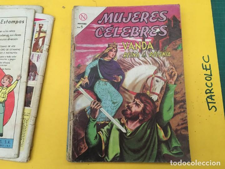 Tebeos: MUJERES CELEBRES NOVARO, 13 NUMEROS (VER DESCRIPCION) EDITORIAL NOVARO AÑO 1963-1965 - Foto 6 - 289556408