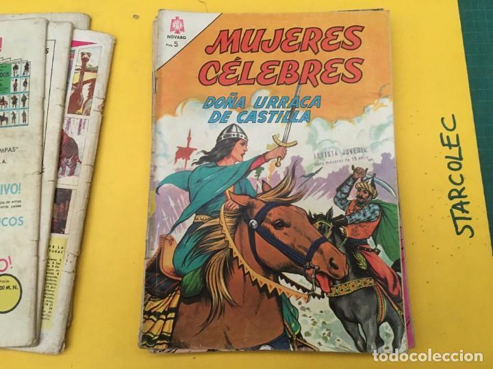 Tebeos: MUJERES CELEBRES NOVARO, 13 NUMEROS (VER DESCRIPCION) EDITORIAL NOVARO AÑO 1963-1965 - Foto 7 - 289556408