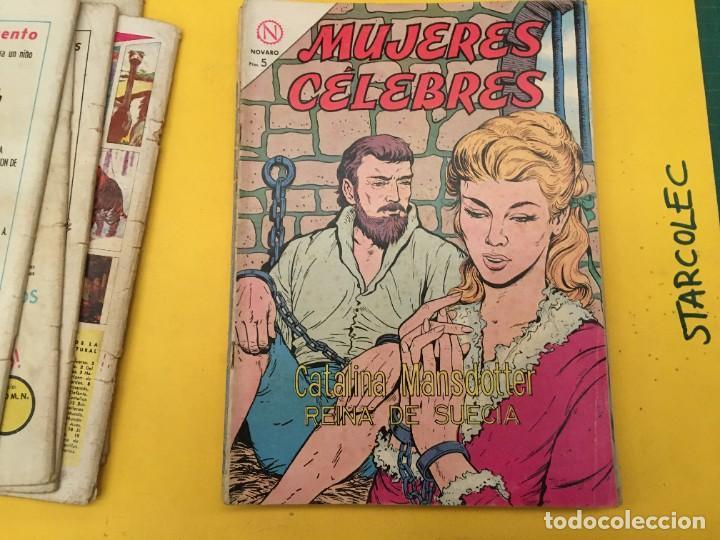 Tebeos: MUJERES CELEBRES NOVARO, 13 NUMEROS (VER DESCRIPCION) EDITORIAL NOVARO AÑO 1963-1965 - Foto 8 - 289556408