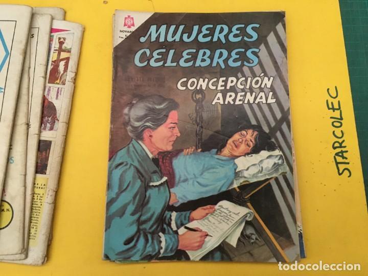 Tebeos: MUJERES CELEBRES NOVARO, 13 NUMEROS (VER DESCRIPCION) EDITORIAL NOVARO AÑO 1963-1965 - Foto 9 - 289556408