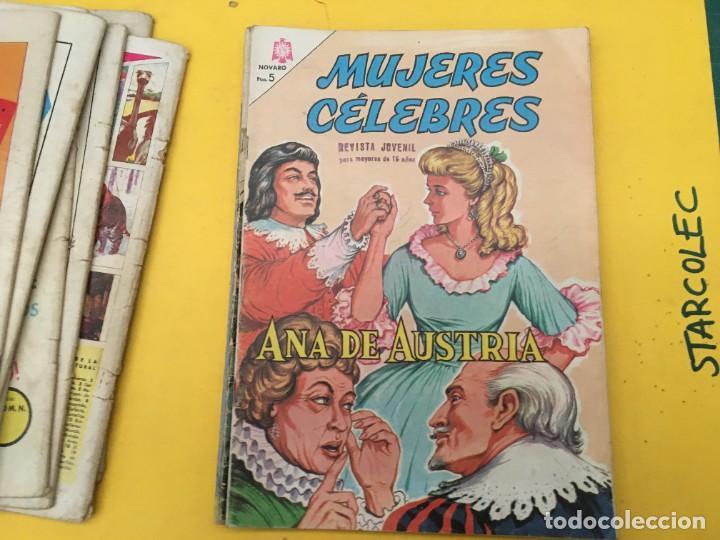 Tebeos: MUJERES CELEBRES NOVARO, 13 NUMEROS (VER DESCRIPCION) EDITORIAL NOVARO AÑO 1963-1965 - Foto 10 - 289556408