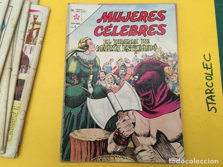 Tebeos: MUJERES CELEBRES NOVARO, 13 NUMEROS (VER DESCRIPCION) EDITORIAL NOVARO AÑO 1963-1965 - Foto 11 - 289556408