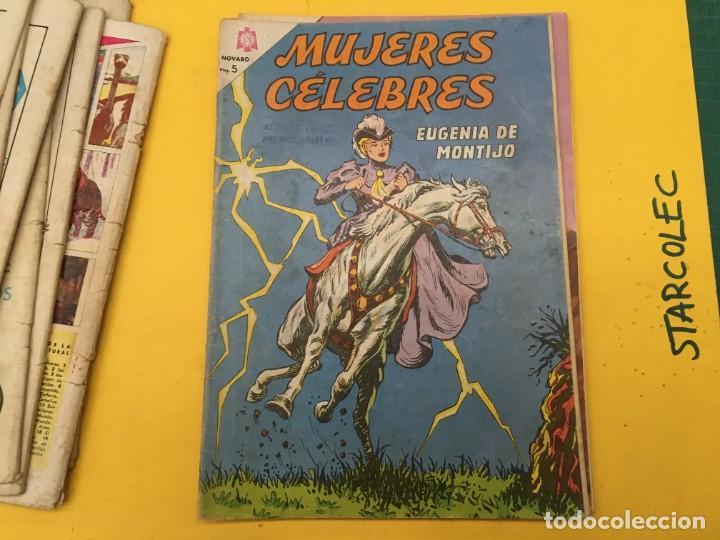 Tebeos: MUJERES CELEBRES NOVARO, 13 NUMEROS (VER DESCRIPCION) EDITORIAL NOVARO AÑO 1963-1965 - Foto 12 - 289556408