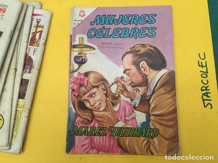 Tebeos: MUJERES CELEBRES NOVARO, 13 NUMEROS (VER DESCRIPCION) EDITORIAL NOVARO AÑO 1963-1965 - Foto 13 - 289556408
