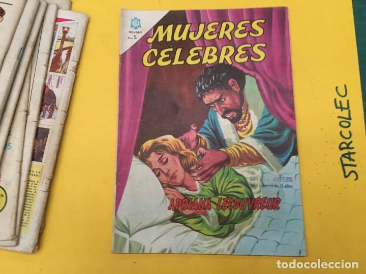 Tebeos: MUJERES CELEBRES NOVARO, 13 NUMEROS (VER DESCRIPCION) EDITORIAL NOVARO AÑO 1963-1965 - Foto 14 - 289556408