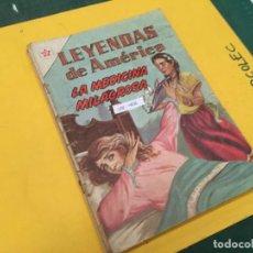 Tebeos: LEYENDAS DE AMERICA NOVARO, 3 NUMEROS (VER DESCRIPCION) EDITORIAL NOVARO AÑO 1962-1964. Lote 289557448