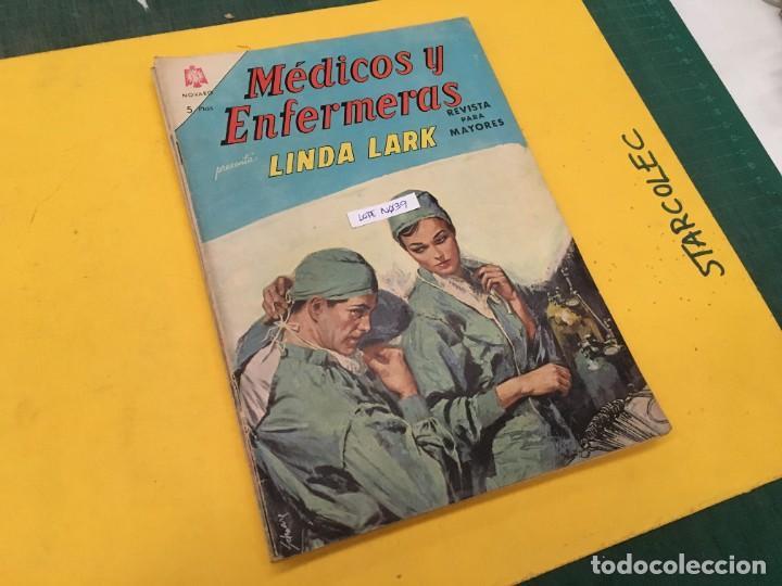 MEDICOS Y ENFERMERAS NOVARO, 4 NUMEROS (VER DESCRIPCION) EDITORIAL NOVARO AÑO 1964-1965 (Tebeos y Comics - Novaro - Otros)