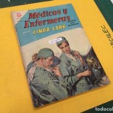 Tebeos: MEDICOS Y ENFERMERAS NOVARO, 4 NUMEROS (VER DESCRIPCION) EDITORIAL NOVARO AÑO 1964-1965. Lote 289559083