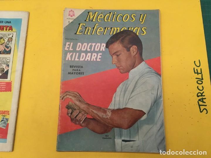 Tebeos: MEDICOS Y ENFERMERAS NOVARO, 4 NUMEROS (VER DESCRIPCION) EDITORIAL NOVARO AÑO 1964-1965 - Foto 3 - 289559083