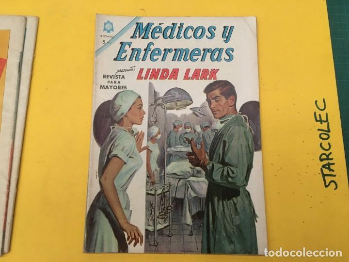 Tebeos: MEDICOS Y ENFERMERAS NOVARO, 4 NUMEROS (VER DESCRIPCION) EDITORIAL NOVARO AÑO 1964-1965 - Foto 4 - 289559083