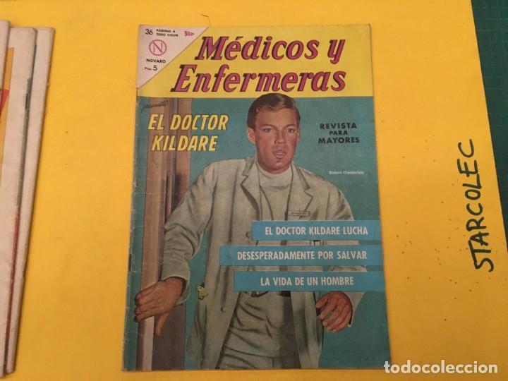 Tebeos: MEDICOS Y ENFERMERAS NOVARO, 4 NUMEROS (VER DESCRIPCION) EDITORIAL NOVARO AÑO 1964-1965 - Foto 5 - 289559083