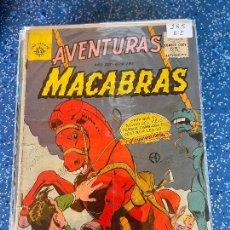 Tebeos: EDITORA EL SOL AVENTURAS MACABRAS NUMERO 285 NORMAL ESTADO. Lote 289577678
