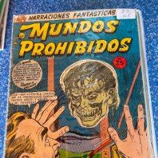 Tebeos: NARRACIONES FANTASTICA MUNDOS PROHIBIDOS NUMERO 25 NORMAL ESTADO. Lote 289579193