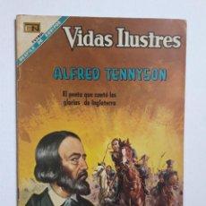 Tebeos: VIDAS ILUSTRES N° 180 - ALFRED TENNYSON - ORIGINAL EDITORIAL NOVARO. Lote 289590928