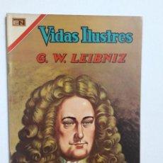 Tebeos: VIDAS ILUSTRES N° 174 - G. W. LEIBNIZ - ORIGINAL EDITORIAL NOVARO. Lote 289591248
