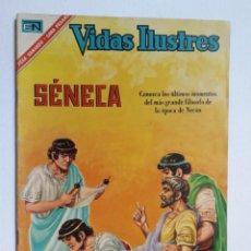 Tebeos: VIDAS ILUSTRES N° 155 - SÉNECA - ORIGINAL EDITORIAL NOVARO. Lote 289591533
