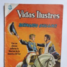 Tebeos: VIDAS ILUSTRES N° 140 - BERNARDO O'HIGGINS - ORIGINAL EDITORIAL NOVARO. Lote 289591848